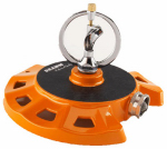 Dramm 10-15070 Spinning Sprinkler, Metal, Assorted Colors