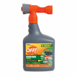 S C Johnson Wax 76939 Backyard Mosquito Repellent, Hose End, Covers 16,000-Sq. Ft.