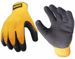 Radians DPG70L Rubber-Coated Gripper Glove, Large