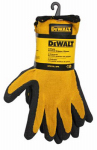 Radians DPG70L-3PK Textured Rubber-Coated Gripper Gloves, Large, 3-Pk.