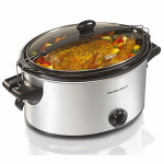 Hamilton Beach Brands 33262 Stay-or-Go Slow Cooker, 6-Qt.