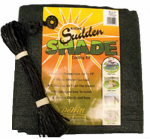Dewitt SSR12BLK Sudden Shade Fabric, 12 x 12-Ft., Black