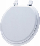 Bemis Mfg 66TT 000 Round Molded Wood Toilet Seat, White