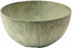 Novelty Mfg 31121 Napa Bowl Planter, Sage, 12-In.