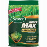 Scotts Lawns 44615A Green Max Lawn Fertilizer, 20-0-2, Covers 5,000-Sq.-Ft.