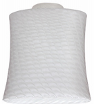 Westinghouse Lighting 8141200 Lunar Weave Glass Ceiling Fan Light Shades, Must Purchase in Quantities of 4