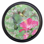 Taylor Precision Products 90041 13-Inch Hummingbirds Outdoor Thermometer
