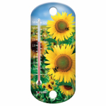 Taylor Precision Products 90167 8-Inch Sunflower Outdoor Thermometer