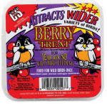 C & S Products 12527 11.75-oz. Berry Suet Cake
