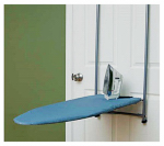 Household Essentials 2011 Over-The-Door Ironing Board Cover & Pad, Silicone-Coated Blue
