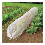 World Source Partners 7686 Garden Grow Tunnel, Insect Mesh, 18-In. x 10-Ft.