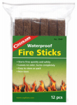 Coghlans 7940 12-Pack Waterproof Fire Sticks