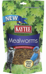Kaytee Products 100505653 Mealworm Bird Food, Resealable Pouch, 7-oz.
