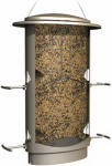 Classic Brands 11 Squirrel-Proof Bird Feeder, Satin Nickel Finish, 4.2-Lb. Capacity