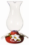 Woodstream 163-3 Hummingbird Feeder, Glass, 32-oz.