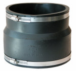 Fernco P1002-66 Sewer Drain Repair Coupling, 6-Inch