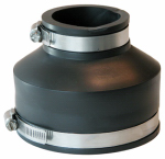 Fernco P1056-415 Sewer Drain Repair Coupling, 4 x 1-/2-Inch