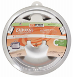 "Range Kleen 180A Electric Range Drip Pan, ""C"" Series, Plug-In Element, Chrome, 8-In."