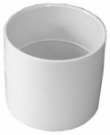Genova Products 40130 Pipe Fitting, PVC Coupling, 3-In.