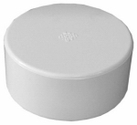 Genova Products 40153 Pipe Fitting, PVC Cap, 3-In.