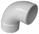 Genova Products 42936 90 Sanitary Street Elbow, 3-Inch