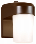 Cooper Lighting FE13PC 13W Bronze Fluorescent Entry Light