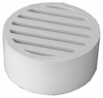 Genova Products 49230 Vinyl Floor Strainer, 3-Inch