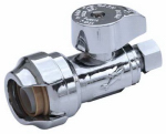 Sharkbite/Cash Acme 23037-0000LF Compression Straight Stop, Lead-Free, 1/2-In.x 3/8-In.