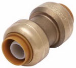 Sharkbite/Cash Acme U008LFA 1/2-In. Pipe Coupling, Lead-Free