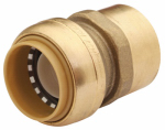 Sharkbite/Cash Acme U094LFA 1-In. x 1-In. FIP Straight Connector, Lead-Free