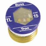 Cooper Bussmann TL-15PK4 4-Pack 15A TL Plug Fuse