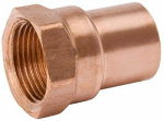 B&K W 01231P10 1/2-Inch Copper x Female Adapter, 10-Pack