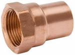 B&K W 01246P10 3/4-Inch Copper x Female Adapter, 10-Pack