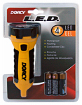 "Dorcy International 41-2510 3 ""AA"" 4-LED Carabineer Flashlight"