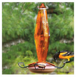 Woodlink NAO8 Cut-Glass Oriole Feeder, 10-oz.