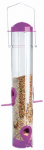 Woodlink NA11502 Wild Bird & Finch Tube Feeder, Assorted Colors, 1.25-Lb.