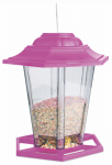 Woodlink NA19971 Mixed Seed Lantern Bird Feeder, Assorted Colors, 1.5 Lb.