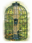 Woodlink NATUBE3 Squirrel Resistant Tube Feeder, 1-1/4 Lb.