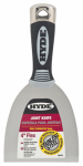 Hyde Tools 06578 Joint Knife, Flexible Steel Blade, 4-In.