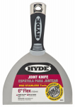 Hyde Tools 06878 Joint Knife, Flexible Steel Blade, 6-In.