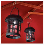 Smart Solar 3782WRM2 Patio Umbrella Hanging Solar LED Lanterns, 2-Pk.