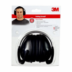 3M 90559-6DC Folding Earmuffs, Black