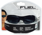 3M 90878-80025T Fuel X2 High Performance Safety Eyewear, Black Frame/Gray Lens