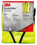 3M 94601-80030T Tekk Protection Safety Vest, One Size, Hi-Viz Yellow