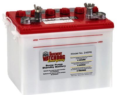basement watchdog 6 hour 140a deep cycle sump pump