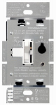 Lutron Electronics TGCL-153PH-WH 150-Watt 3-Way Toggle Dimmer, White