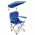 Bravo Sports 149578 Shade Chair With Canopy & Carry Case, Red Polyester