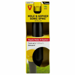Woodstream S90121-4 Mole & Gopher Repellent Sonic Spike