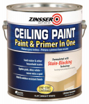 Zinsser & 260967 Ceiling Paint / Primer, Goes On Pink, Gal.