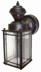 Heathco HZ-4133-OR Shaker Cove Mission Light Fixture, Motion-Activated, Oil-Rubbed Bronze, 60-Watt